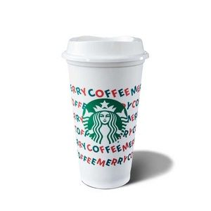 Limited edition reusable Starbucks cup